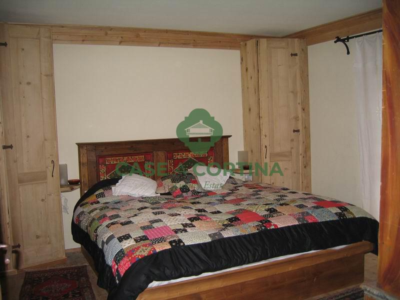 Camera da letto Appartamento a zuel Cortina d'Ampezzo
