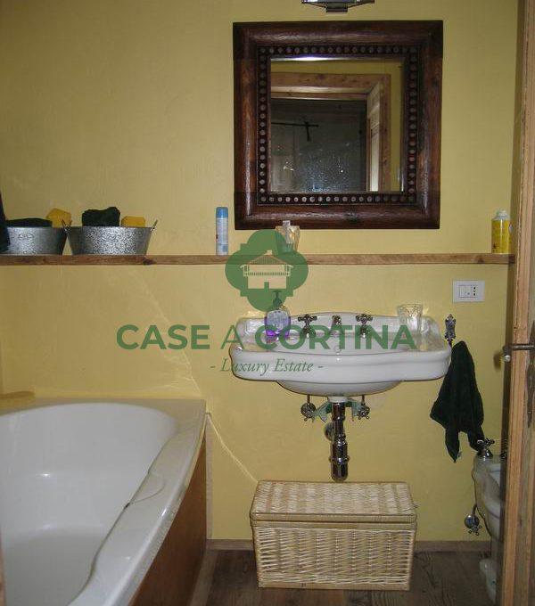 bagno new Appartamento a zuel Cortina d'Ampezzo