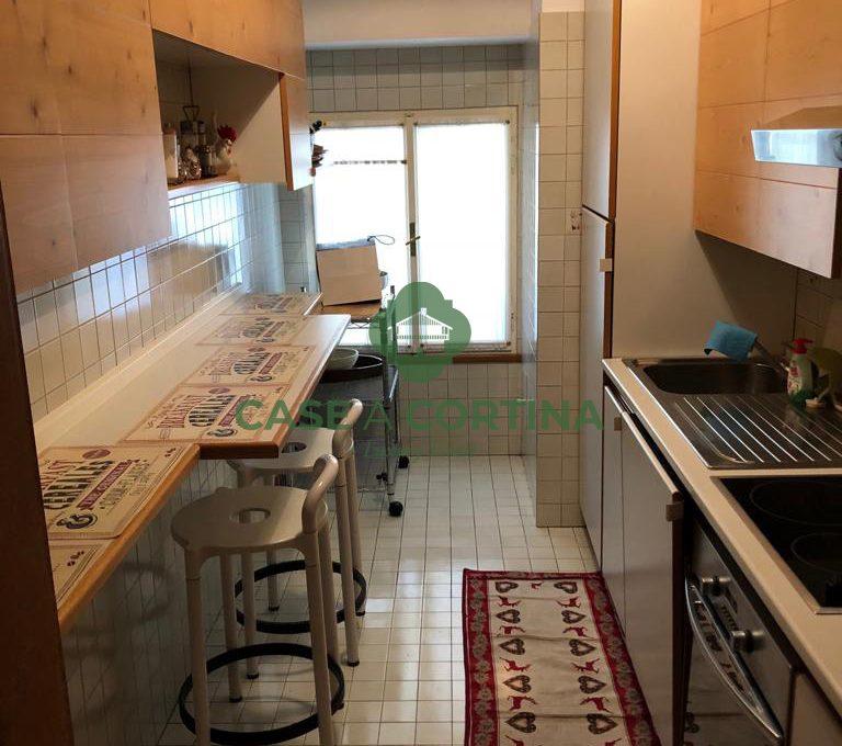 cucina Appartamento alverà Cortina d'Ampezzo