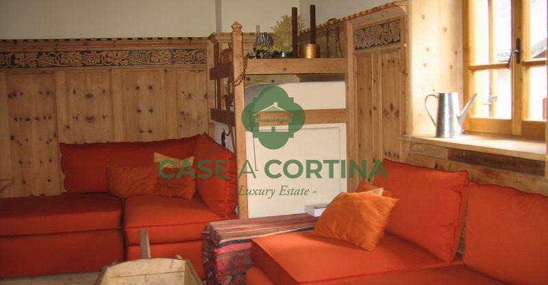 soggiorno_Appartamento a zuel Cortina d'Ampezzo
